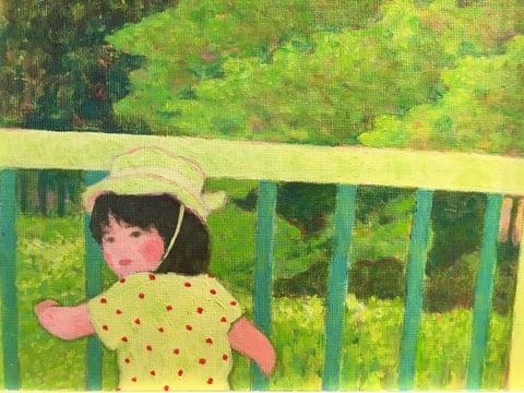 「夏、幹線橋にて」