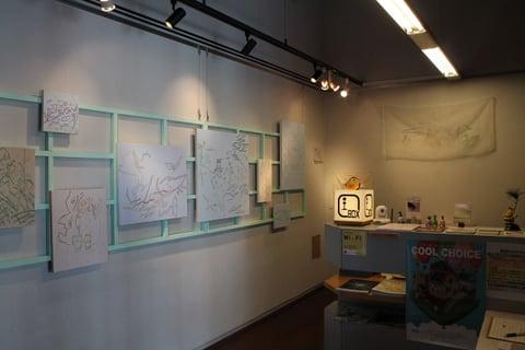 展示室の様子