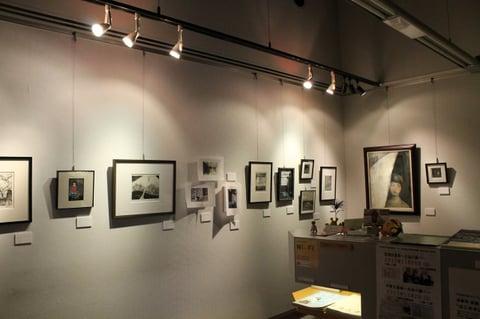 晩秋の空気を展示室に持ち込んだような展覧会でした。