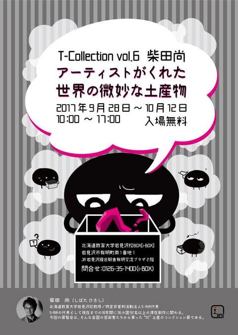 T-Collection vol.6 柴田尚 アーティストがくれた「世界の微妙な土産物」